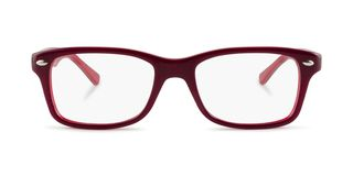 Lunettes de vue Ray-Ban RY 1531 Junior rouge/rouge