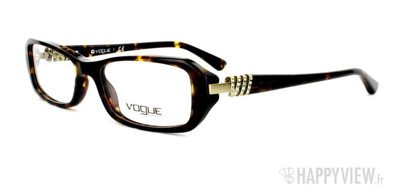 Lunettes de vue Vogue Vogue 2709B écaille - vue de 3/4