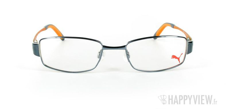 Lunettes de vue Puma Puma 15261 bleu/orange - vue de face