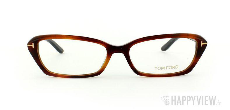 Lunettes de vue Tom Ford Tom Ford 5159 écaille/noir - vue de face