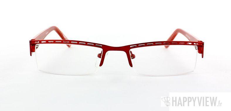 Lunettes de vue Happyview Annecy rouge - vue de face