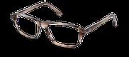 Lunettes de vue Happyview MARCEL marron - vue de 3/4 miniature