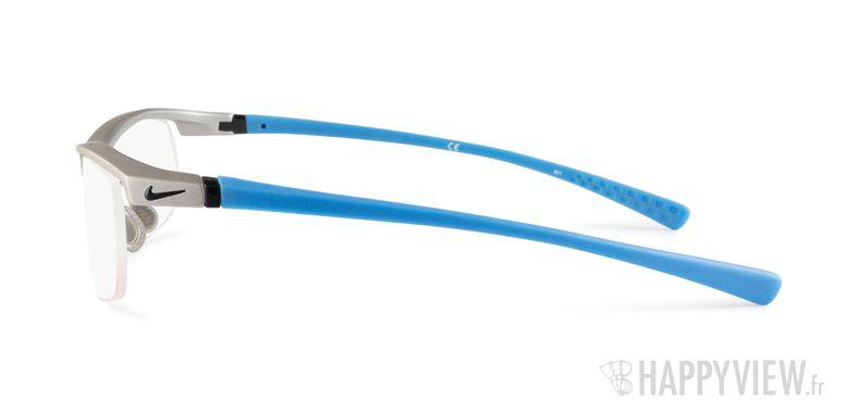 Lunettes de vue Nike 7071 bleu/gris - vue de côté