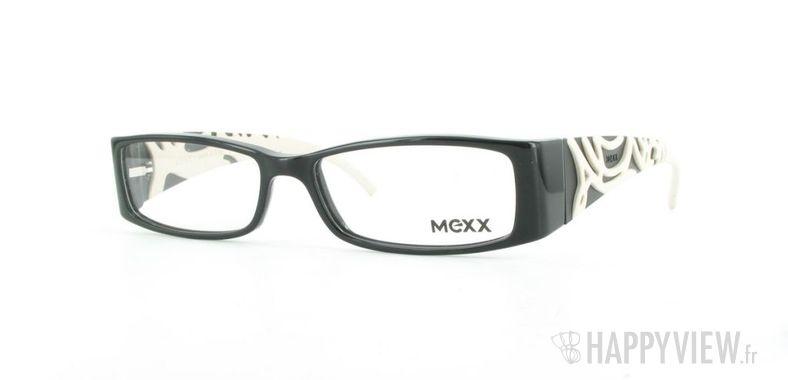 Lunettes de vue Mexx Mexx 5366 noir/blanc - vue de 3/4