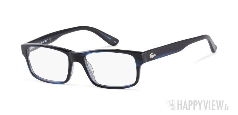 Lunettes de vue Lacoste L 2705 noir/bleu - vue de 3/4