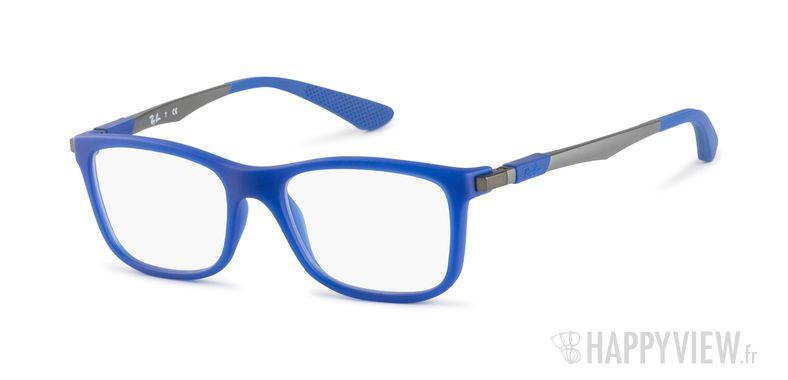 Lunettes de vue Ray-Ban RY 1549 Junior bleu/argenté - vue de 3/4