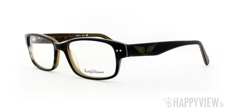 Lunettes de vue Zadig&Voltaire Zadig&Voltaire 2011 gris - vue de 3/4