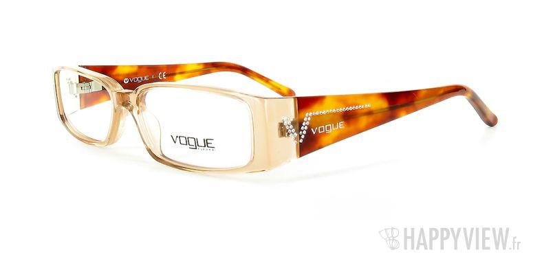Lunettes de vue Vogue Vogue 2557B marron - vue de 3/4