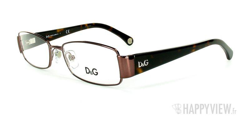 Lunettes de vue Dolce & Gabbana D&G 5072 marron - vue de 3/4