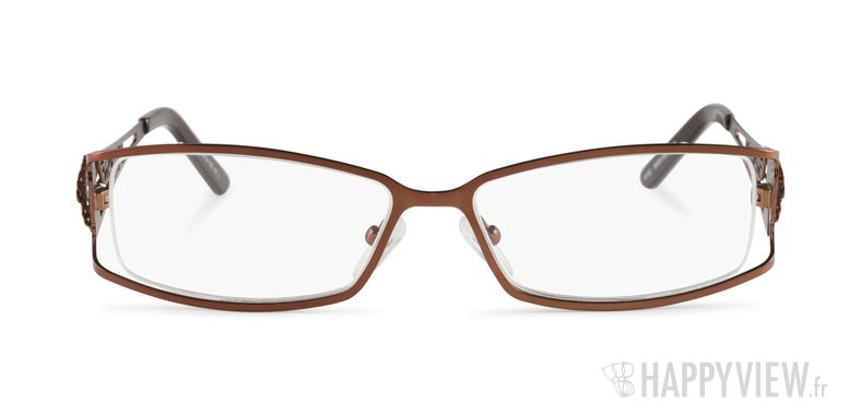 Lunettes de vue Happyview Da Vinci marron - vue de face