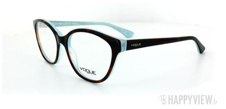 Lunettes de vue Vogue Vogue 2764 écaille/bleu - vue de 3/4