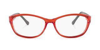 Lunettes de vue Happyview Aurillac rouge