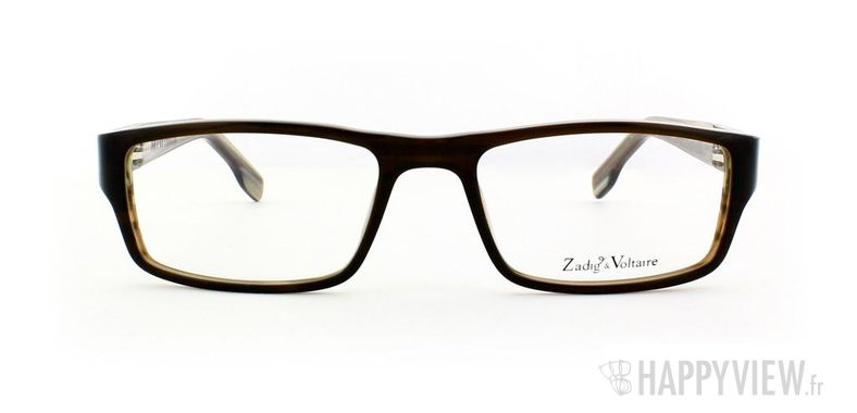Lunettes de vue Zadig&Voltaire Zadig&Voltaire 3007 marron - vue de face