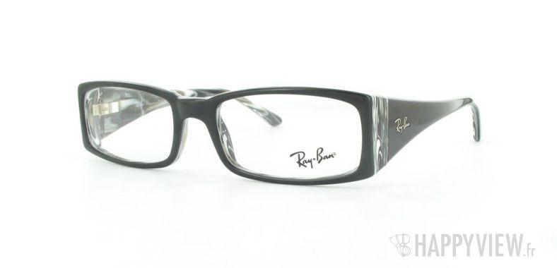 Lunettes de vue Ray-Ban Ray-Ban RX5170 noir - vue de 3/4