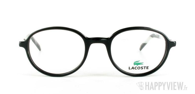 Lunettes de vue Lacoste Lacoste 12034 noir - vue de face