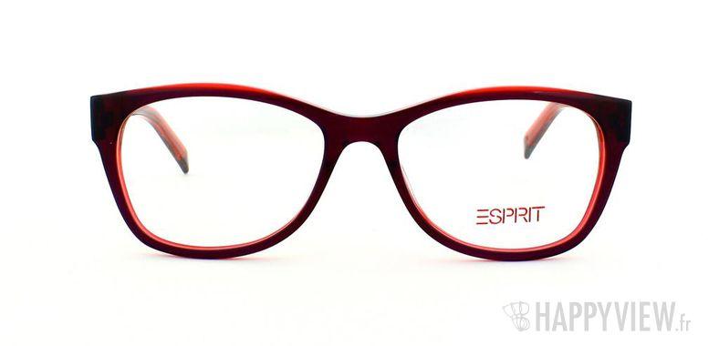 Lunettes de vue Esprit Esprit 17341 rouge - vue de face