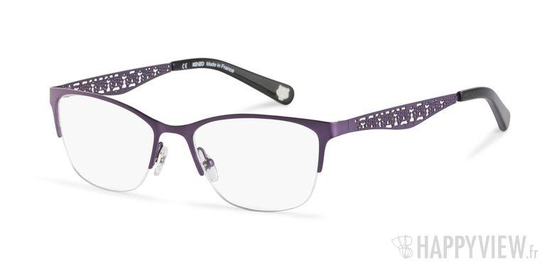 Lunettes de vue Kenzo KZ 2234 violet - vue de 3/4