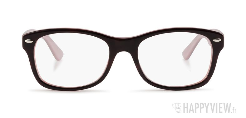 Lunettes de vue Ray-Ban RB RY1528 Junior noir/rose - vue de face