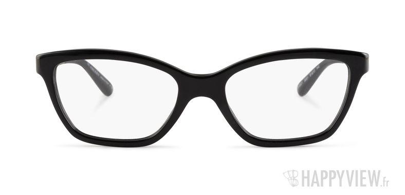 Lunettes de vue Burberry BE 2221 noir - vue de face