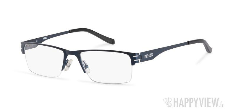 Lunettes de vue Kenzo KZ 4158 bleu - vue de 3/4