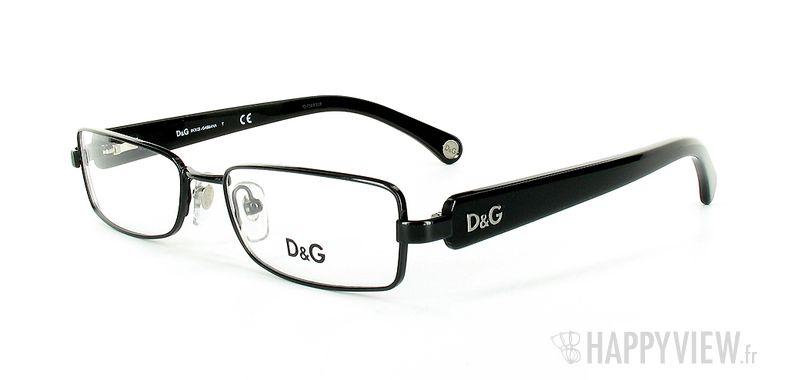 Lunettes de vue Dolce & Gabbana D&G 5065 noir - vue de 3/4