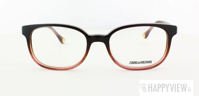 Lunettes de vue Zadig&Voltaire Zadig&Voltaire 2026 marron/rose - vue de face