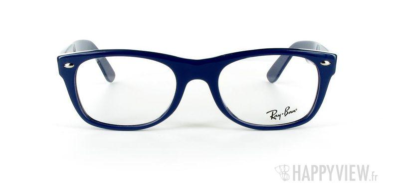 Lunettes de vue Ray-Ban Ray-Ban RX5184 New Wayfarer Small bleu - vue de face