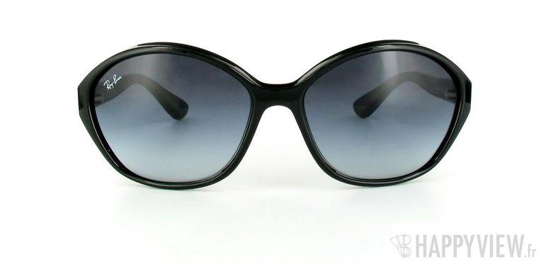 Lunettes de soleil Ray-Ban Ray-Ban RB4164 noir - vue de face