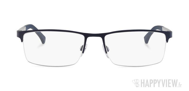 Lunettes de vue Emporio Armani EA 1041 bleu/argenté - vue de face