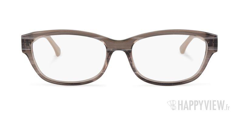 Lunettes de vue Calvin Klein CK 5836 marron - vue de face