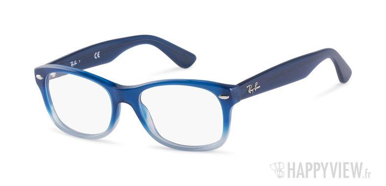 Lunettes de vue Ray-Ban RB RY1528 Junior bleu - vue de 3/4