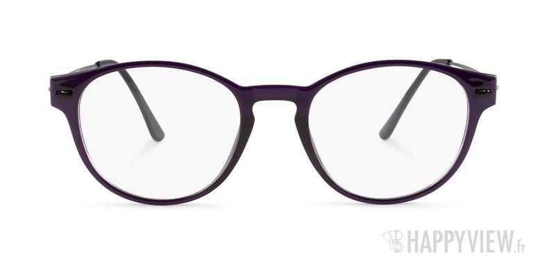Lunettes de vue Happyview Oslo violet - vue de face