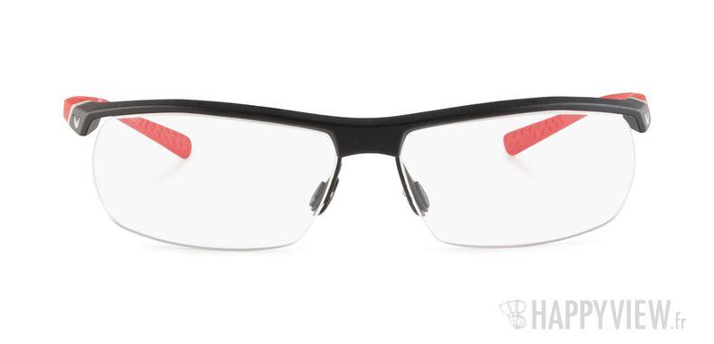 Lunettes de vue Nike 7071 rouge/noir - vue de face