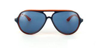 Lunettes de soleil Ray-Ban Ray-Ban Junior Cats 5000 RJ9049S bleu/orange