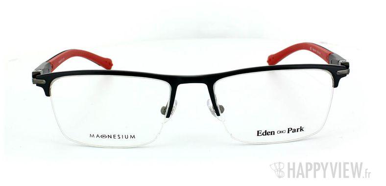 Lunettes de vue Eden Park Eden Park 3563 Magnésium noir/rouge - vue de face