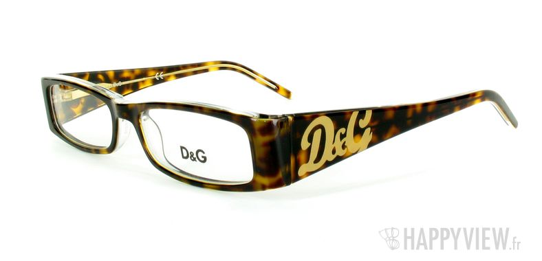 Lunettes de vue Dolce & Gabbana D&G 1127 écaille - vue de 3/4