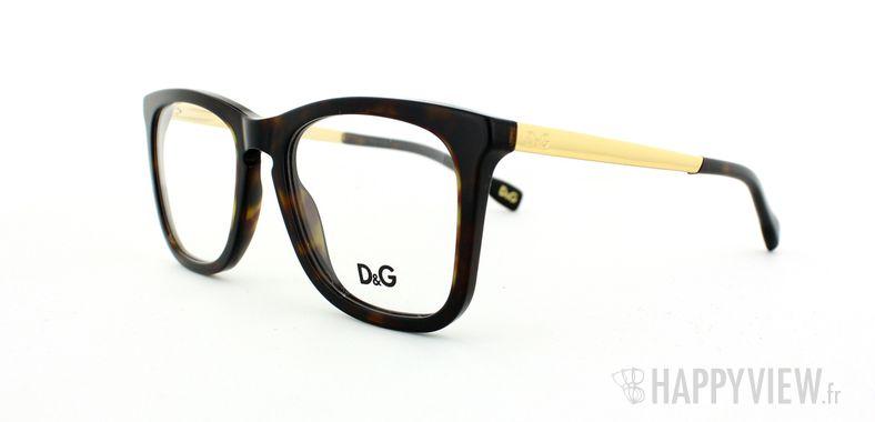 Lunettes de vue Dolce & Gabbana D&G 1231 écaille/doré - vue de 3/4