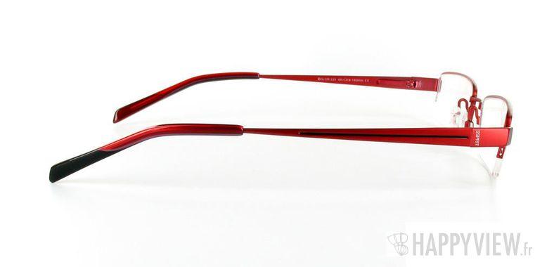 Lunettes de vue Esprit Esprit 9285 rouge - vue de côté