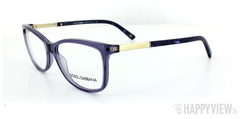 Lunettes de vue Dolce & Gabbana Dolce & Gabbana 3107 bleu - vue de 3/4