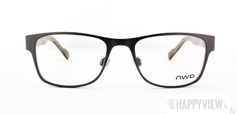 Lunettes de vue OWP OWP 8585 gris/marron - vue de face