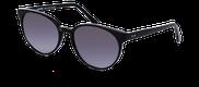 Lunettes de soleil Happyview LOUISE noir - vue de 3/4 miniature