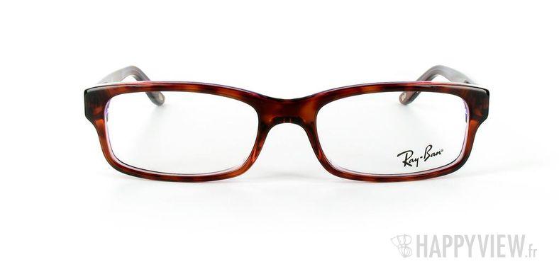 Lunettes de vue Ray-Ban Ray-Ban RX5187 bleu/écaille - vue de face