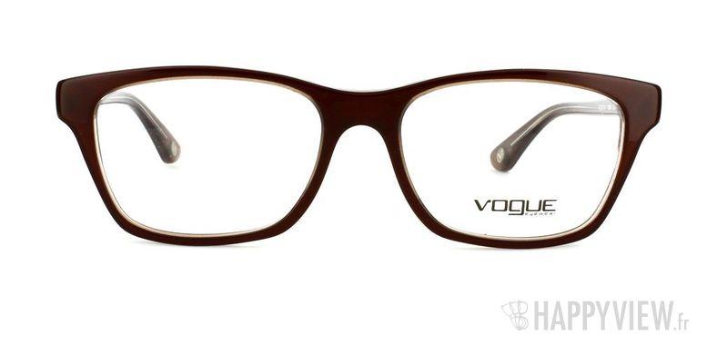 Lunettes de vue Vogue Vogue 2714 marron - vue de face