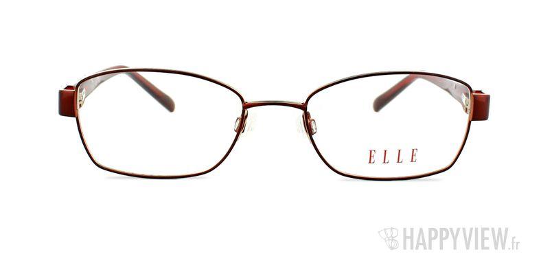 Lunettes de vue Elle EL 13331 rouge - vue de face