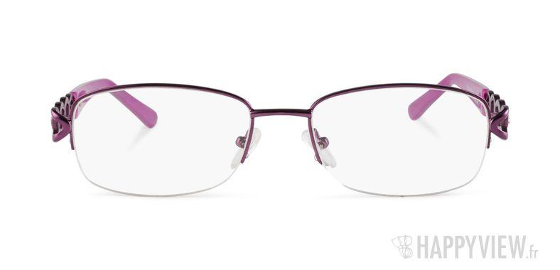 Lunettes de vue Happyview Bastia violet - vue de face