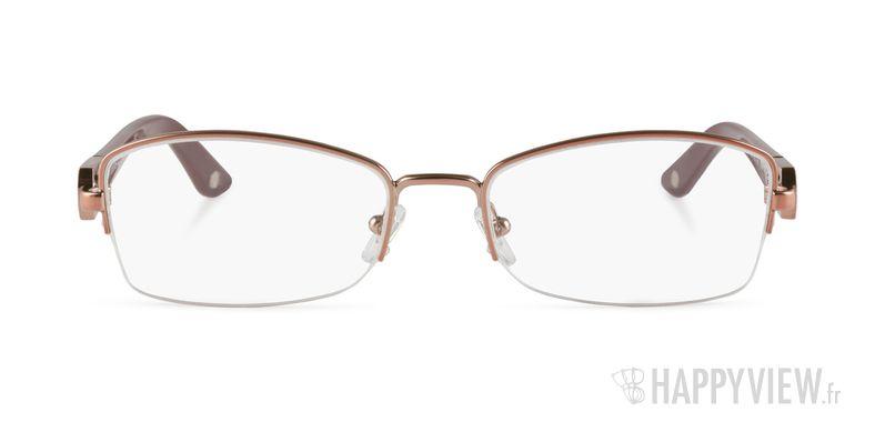 Lunettes de vue Versace VE 1206B doré - vue de face