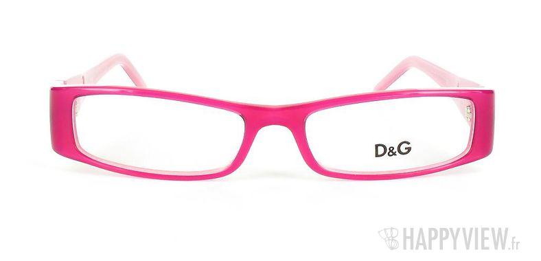 Lunettes de vue Dolce & Gabbana D&G 1114 rose - vue de face