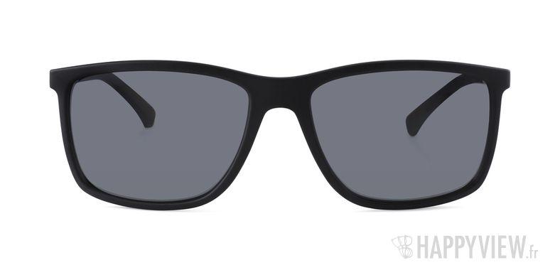 Lunettes de soleil Emporio Armani EA 4058 Polarisée noir - vue de face