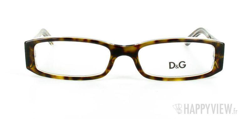 Lunettes de vue Dolce & Gabbana D&G 1179 écaille/blanc - vue de face