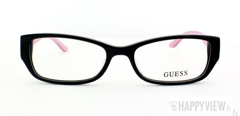 Lunettes de vue Guess Guess 2305 noir/rose - vue de face